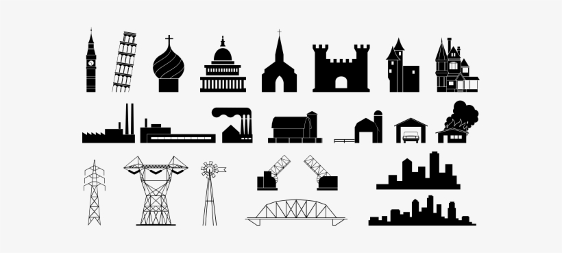 Clipart of capitol building black and white image black and white stock Free Capitol Building Clipart - Clipart Black And White Modern ... image black and white stock