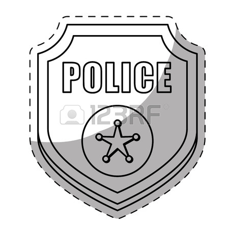 Clipart of cars with patriotic insigna black and white clipart royalty free library Police Badge Black And White   Free download best Police Badge Black ... clipart royalty free library
