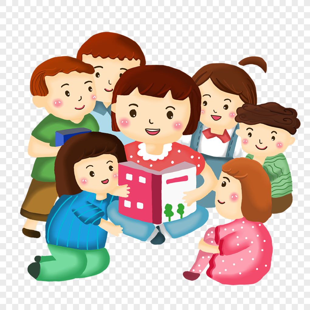 Clipart of children listening to a story jpg royalty free Download Free png Children who listen to the teachers story png ... jpg royalty free