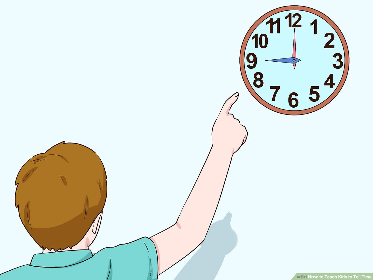 Clipart of children making marks on walls picture download How to Teach Kids to Tell Time (with Pictures) - wikiHow picture download