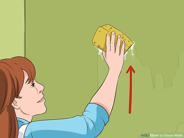 Clipart of children making marks on walls vector library library 4 Ways to Clean Walls - wikiHow vector library library