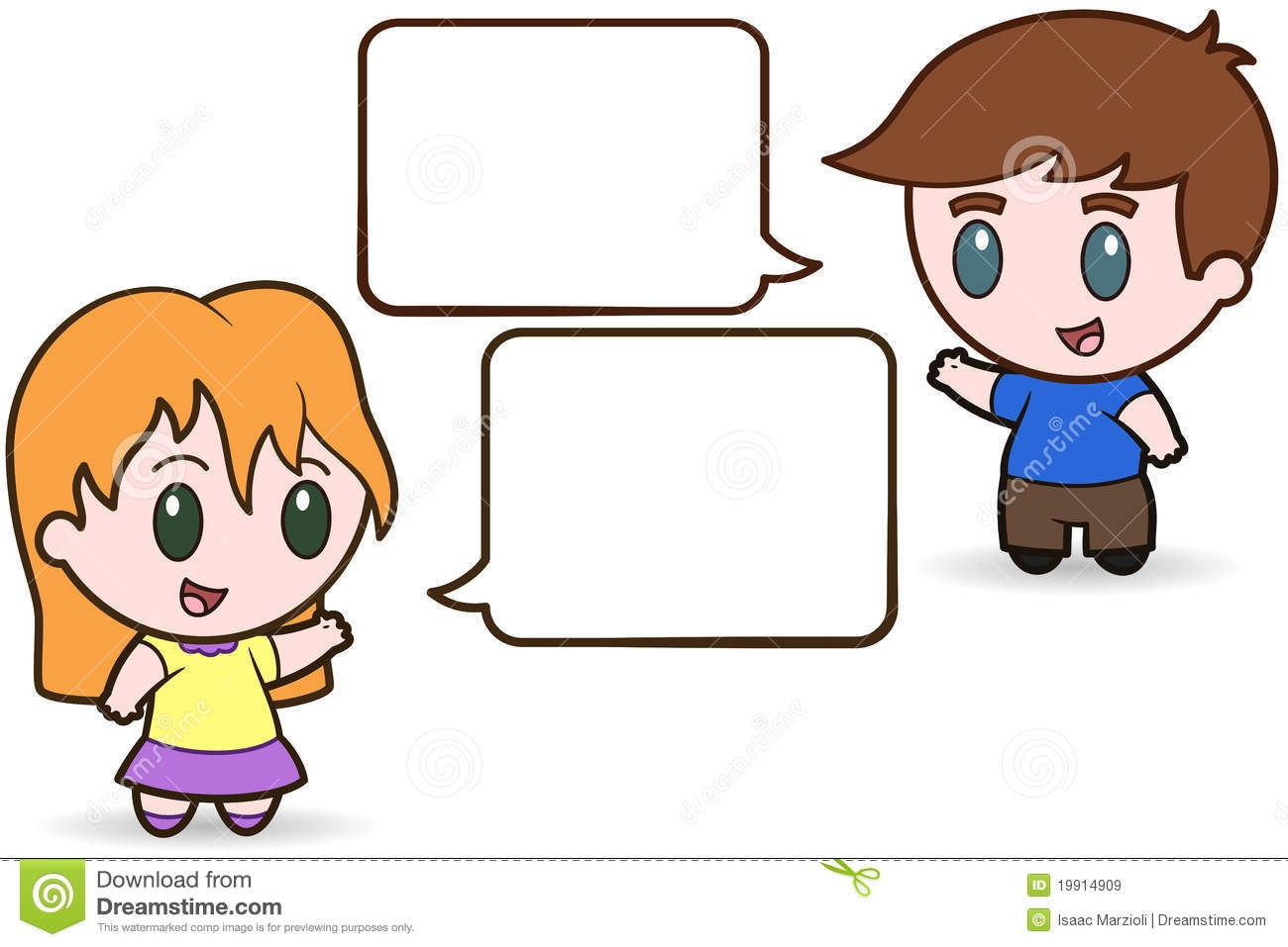 Clipart of children talking clipart freeuse download Kids Talking To Each Other Clipart | Free download best Kids Talking ... clipart freeuse download