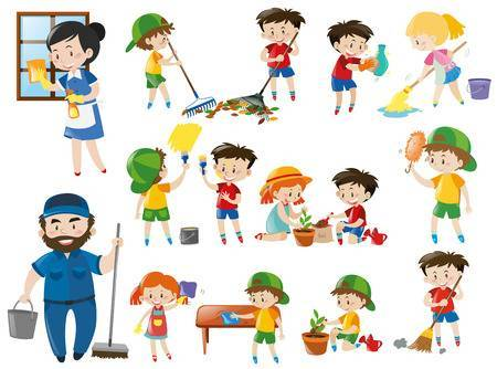 Clipart of chores clip royalty free library Clipart chores 1 » Clipart Portal clip royalty free library