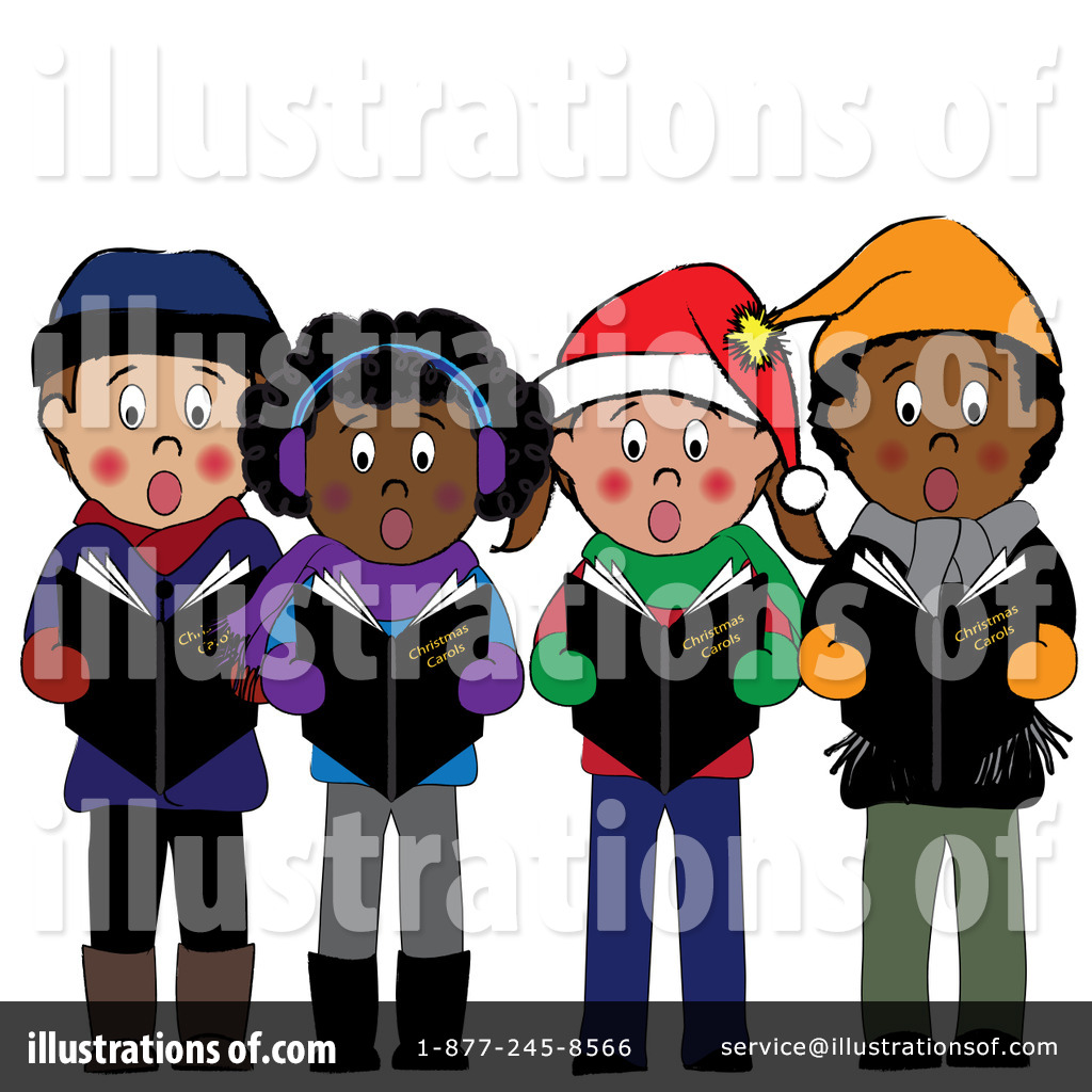 Clipart of christmas carolers graphic transparent download Christmas Caroling Clipart #83331 - Illustration by Pams Clipart graphic transparent download