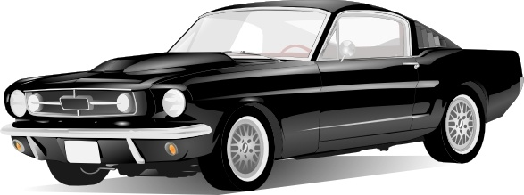 Clipart of classic american cars black and white clip art transparent stock Old Style American Car clip art Free vector in Open office drawing ... clip art transparent stock