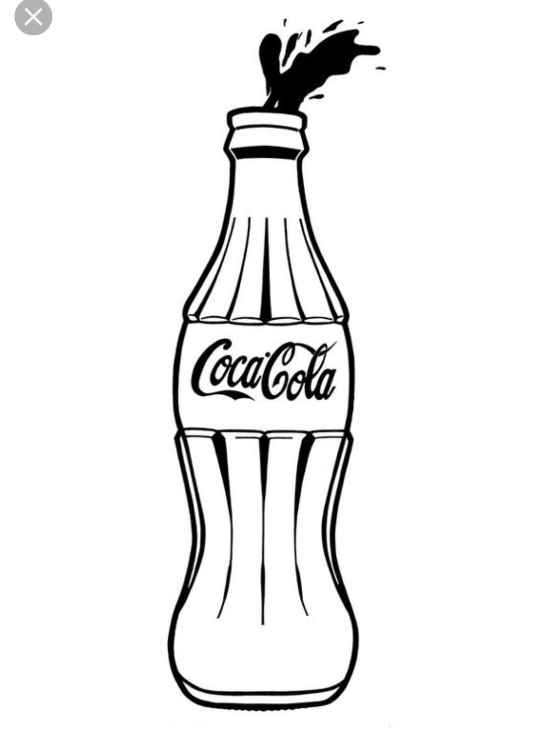 Coca cola bottle clipart black and white clipart black and white Pin by Kellam McMichael on Embroidery | Coca cola bottles, Glass ... clipart black and white
