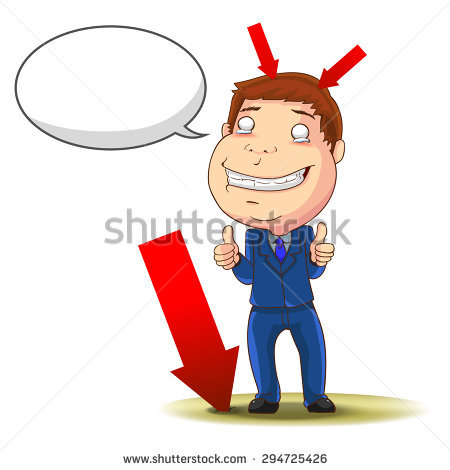 Clipart of comedian with arrow through head image black and white library Stock Images similar to ID 40366882 - arrow breaking the ground... image black and white library