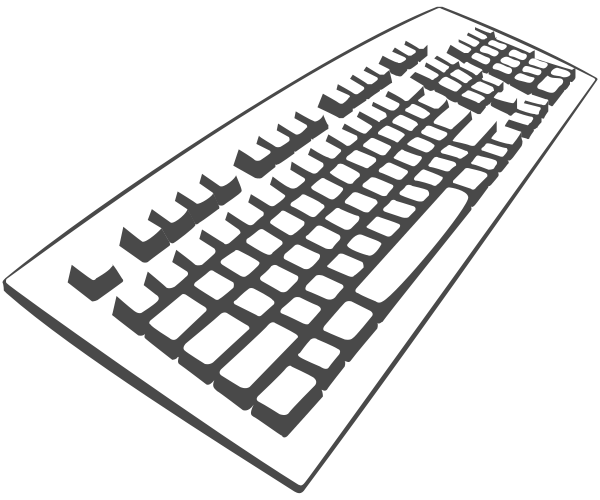 Clipart of computer keyboard picture free download Computer Keyboard Clipart & Computer Keyboard Clip Art Images ... picture free download