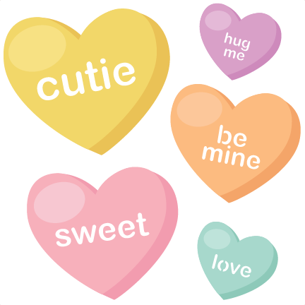 Clipart of conversation hearts with be mine clip art free stock Candy Hearts SVG cutting files valentine svg files valentines svg ... clip art free stock