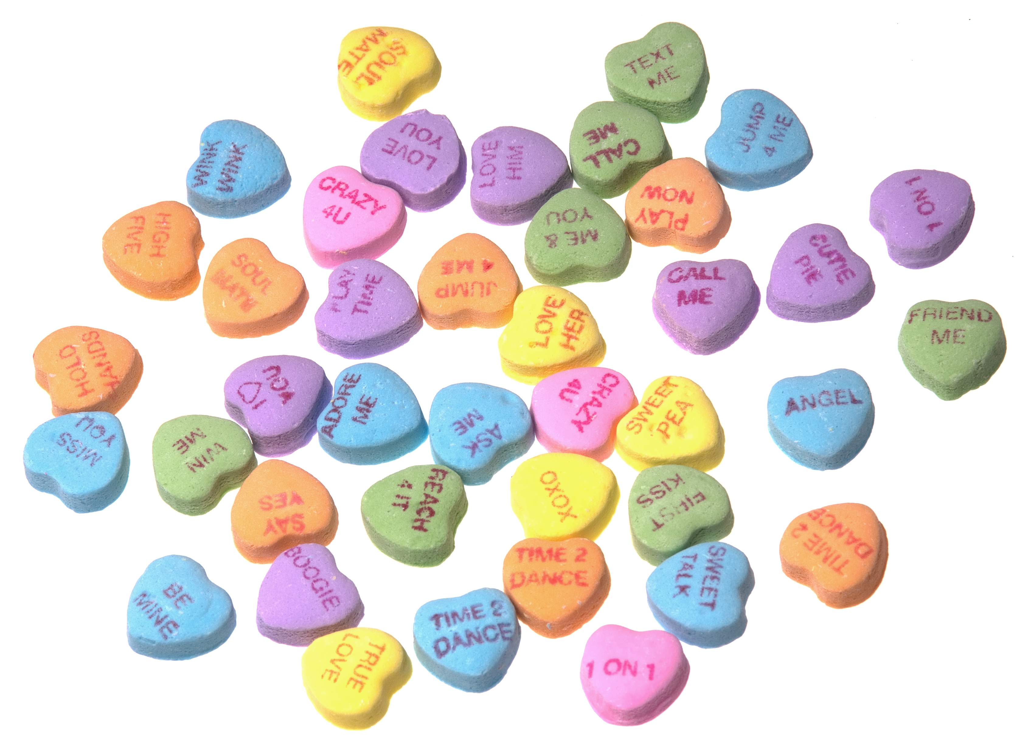 Clipart of conversation hearts with best friends png free library Collection Valentines Day Candy Hearts Sayings Pictures - Best ... png free library