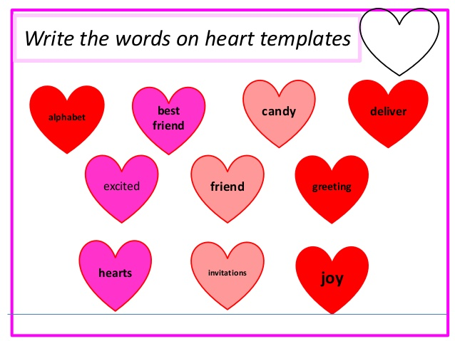 Clipart of conversation hearts with best friends jpg royalty free download Valentine's Day Activities jpg royalty free download