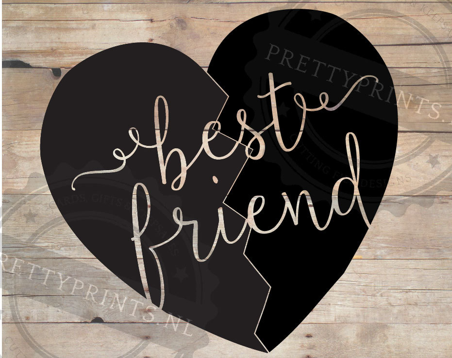 Clipartfox friend svg diy. Clipart of conversation hearts with best friends