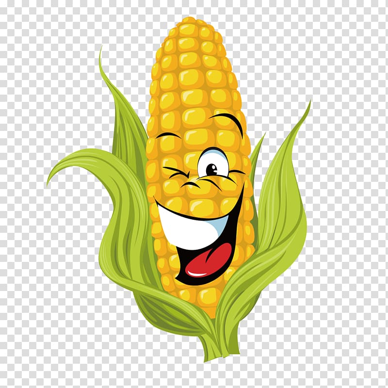 Clipart of corn on the cob image freeuse download Corn cob with face , Corn on the cob Maize Sweet corn , Cartoon corn ... image freeuse download