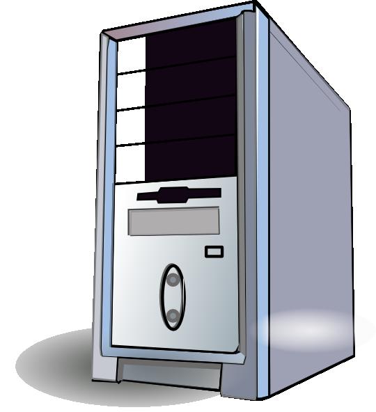 Clipart of cpu transparent download Desktop Pc Clip Art at Clker.com - vector clip art online, royalty ... transparent download