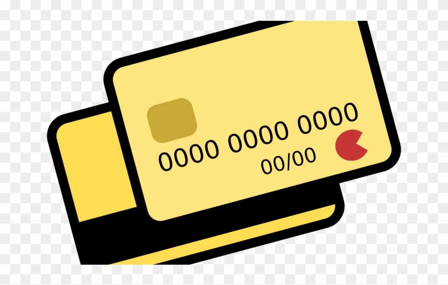 Clipart of credit card vector transparent stock How To Pay Credit Cards - Credit Card Clipart Png Transparent Png ... vector transparent stock