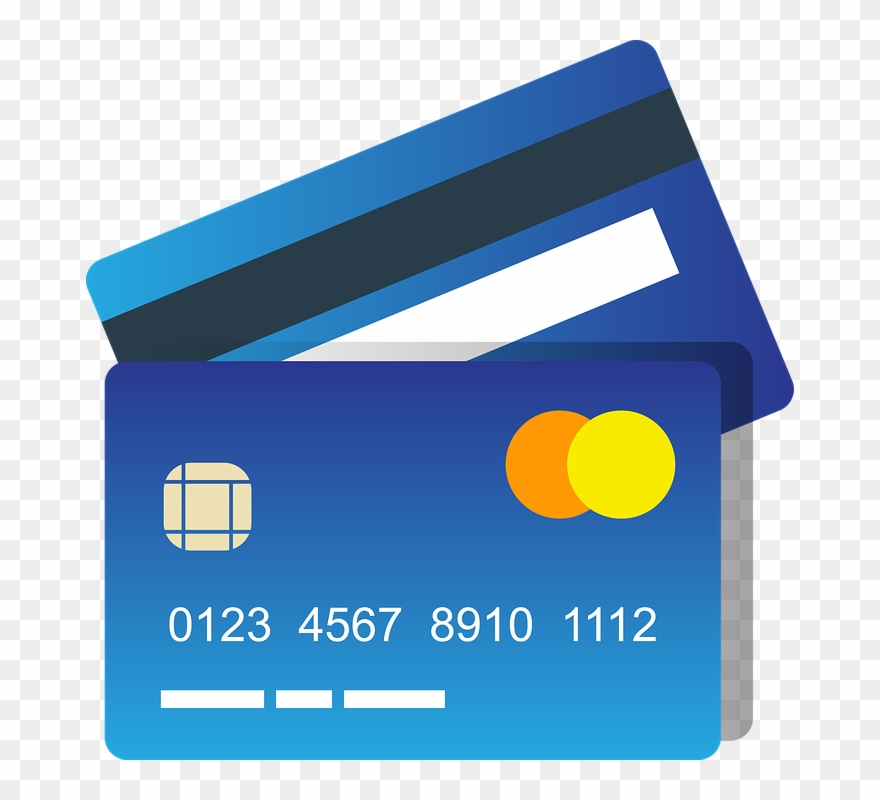 Clipart of credit card svg stock Blue Credit Card Clipart Photo - Credit Card Icon Png Transparent ... svg stock