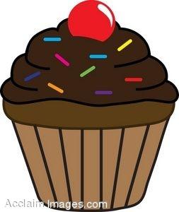 Clipart of cupcake royalty free stock Cupcake clip art clipart cliparts for you - Clipartix royalty free stock