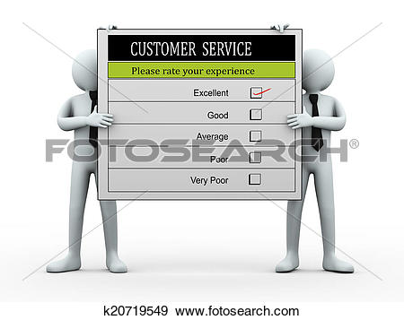 Clipart of customer service people graphic transparent library Stock Illustration of 3d people holding customer service ... graphic transparent library