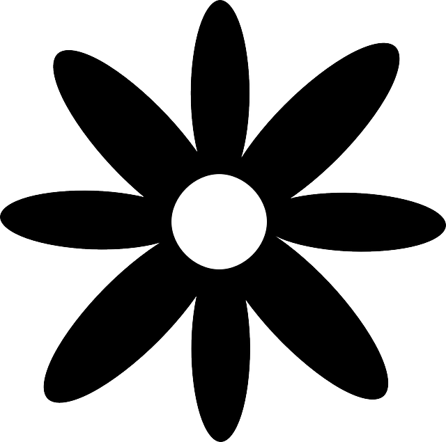 Clipart of daisy flower svg black and white download Daisy Silhouette Clip Art at GetDrawings.com | Free for personal use ... svg black and white download
