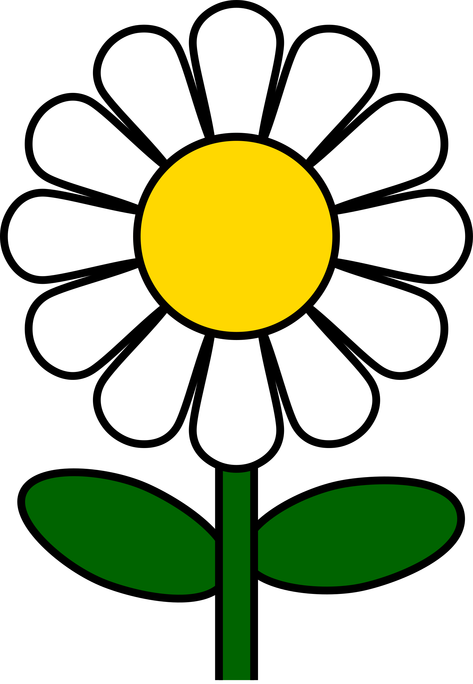 Clipart of daisy flower png freeuse download Clipart - Daisy png freeuse download
