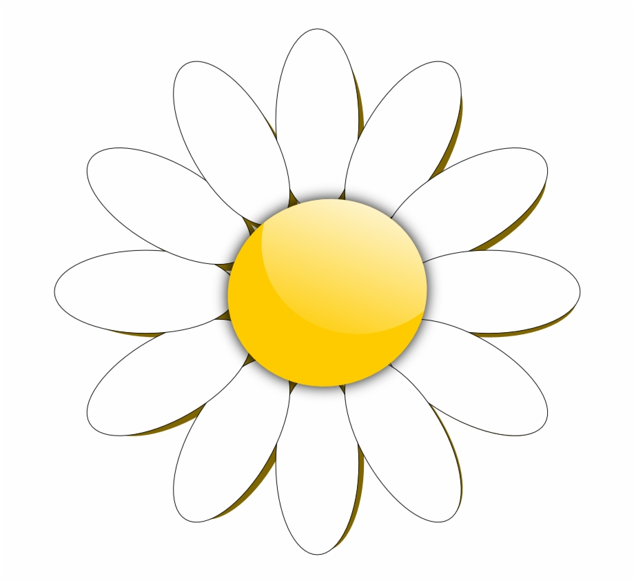 Clipart of daisy jpg freeuse library Flower Daisies Pinterest File And Patterns - Flower Clipart Daisy ... jpg freeuse library