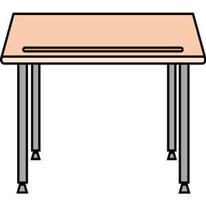 Clipart of desk image transparent Simple school desk clipart, cliparts of Simple school desk free ... image transparent