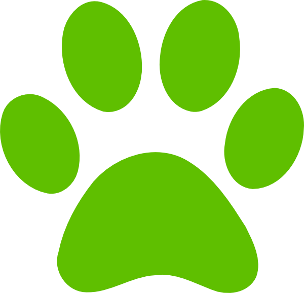 Print clip art download. Dog paw clipart free