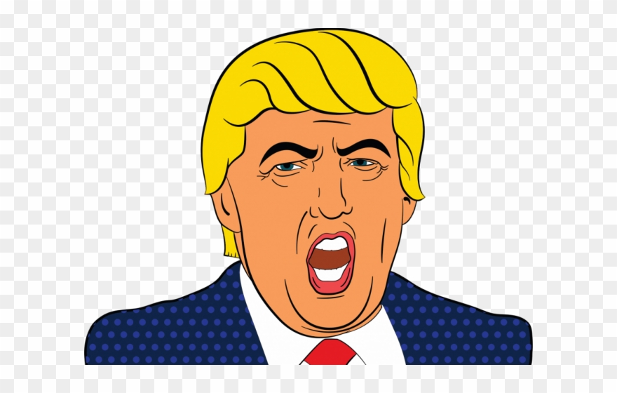 Clipart of donald trump image free library Caricatures Clipart Presidential Candidate - Donald Trump Cartoon ... image free library