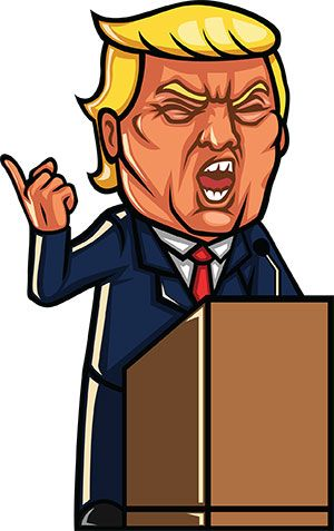 Trump clipart images clip download 18 FREE Donald Trump Clipart Cartoons | Watercolor | Trump cartoons ... clip download