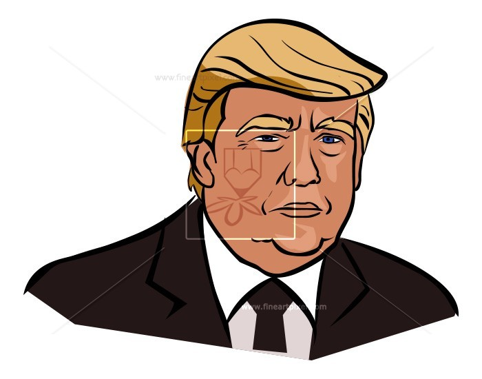 Trump clipart images image transparent library Donald Trump | Free vectors, illustrations, graphics, clipart, PNG ... image transparent library