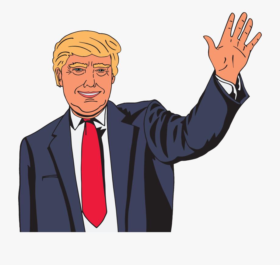 Clipart of donald trump clip art free download Donald Trump Clipart Drawing - Cartoon Donald Trump Drawing ... clip art free download
