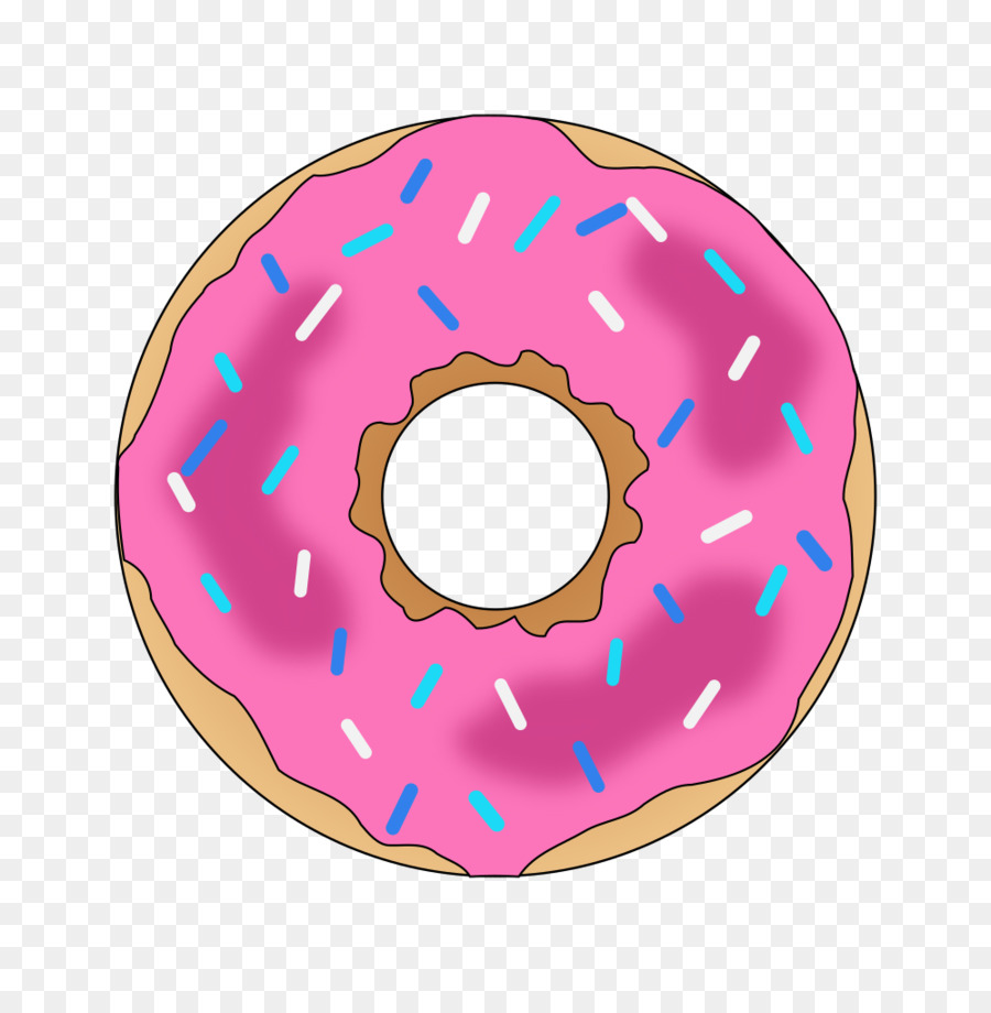 Clipart of donuts picture library library Coffee Pattern clipart - Bakery, Dessert, Pink, transparent clip art picture library library