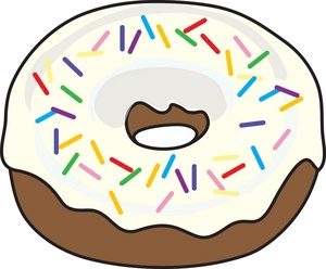 Donut clipart free svg transparent library Donut Clip Art Free | Clipart Panda - Free Clipart Images svg transparent library