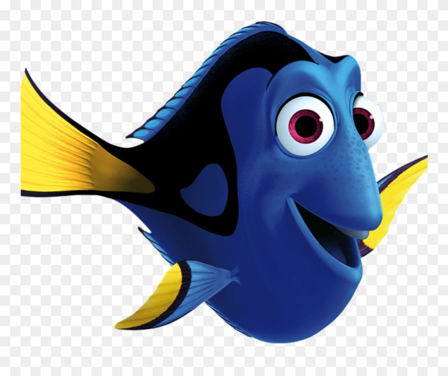 Finding nemo dory clipart jpg black and white Dory Clipart Dory Transparent Png Stickpng Clip Art - Fathead Disney ... jpg black and white