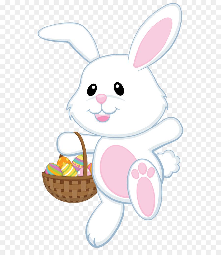 Clipart of easter bunny image Easter Egg Background clipart - Rabbit, Easter, Illustration ... image