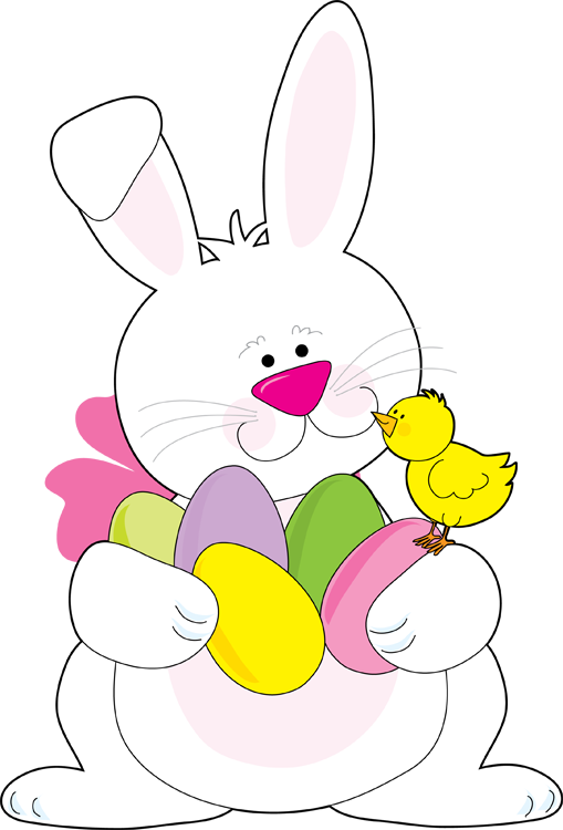 Clipart easter clip black and white Web Design & Development | Primary Easter Party | Easter bunny ... clip black and white
