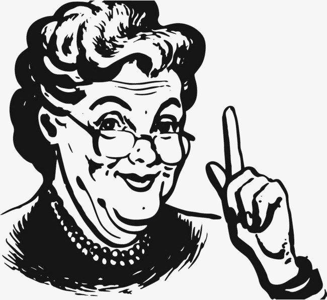 Clipart of elderly african american woman wearing glasses clipart Download Free png wearing glasses old grandmoth - DLPNG.com clipart