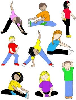 Workout clipart for kids