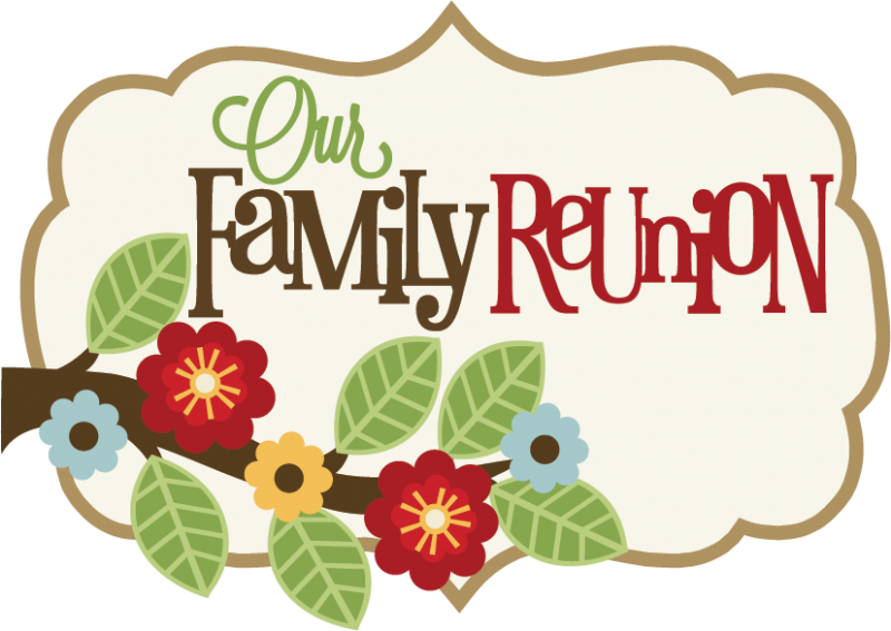 Thanksgiving family gathering clipart vector transparent library Big Family Clip Art | family-reunion-clip-art-borders-large_our ... vector transparent library