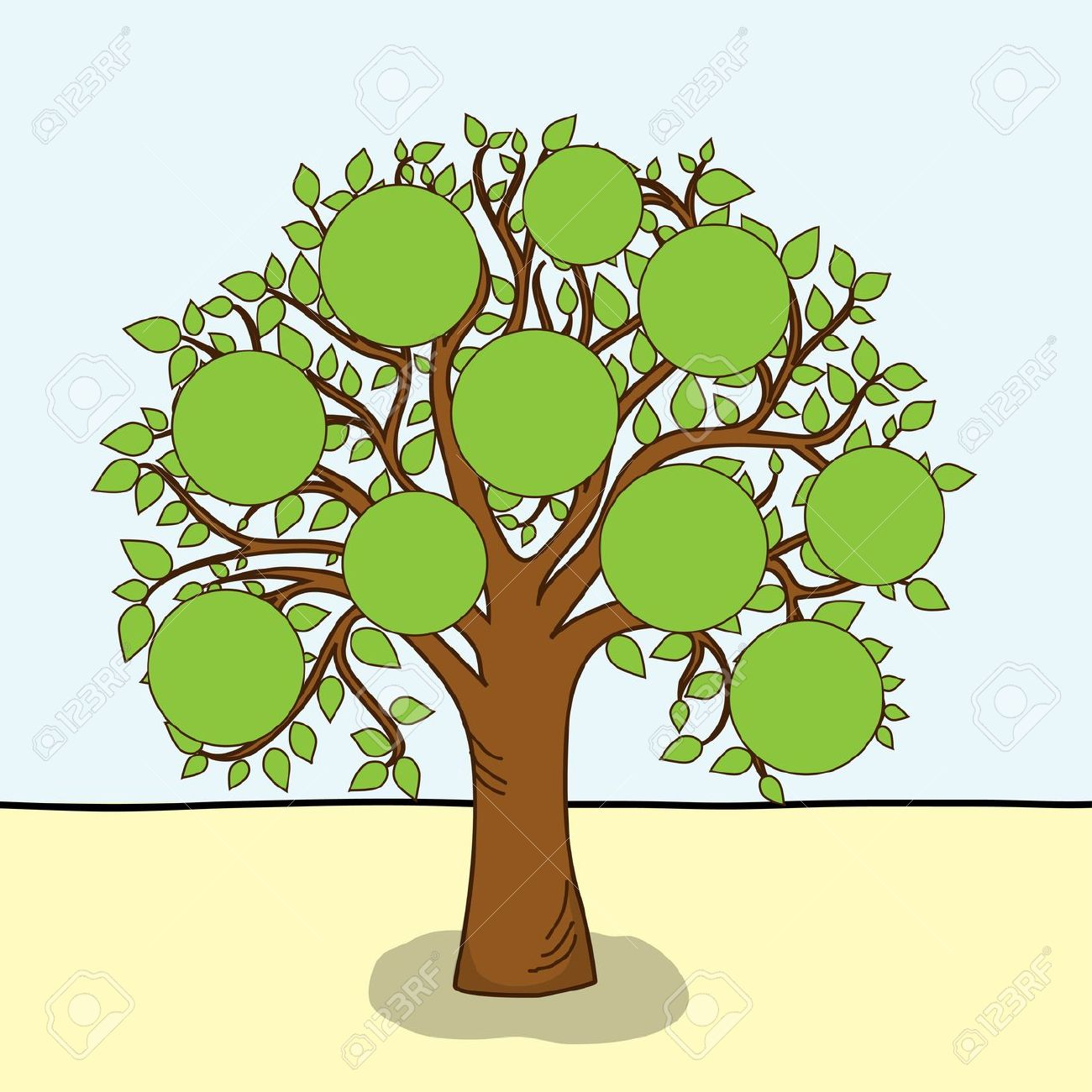 Family tree clipart pictures image transparent library Family tree clipart clipart cliparts for you 2 - Clipartix image transparent library