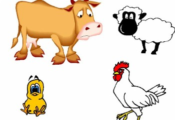 Farm animals download clip. Free animal clipart for teachers