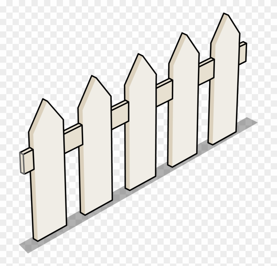 Clipart of fence clip freeuse Image Picket Sprite Png - Top View Of Fence Clipart (#3828376 ... clip freeuse