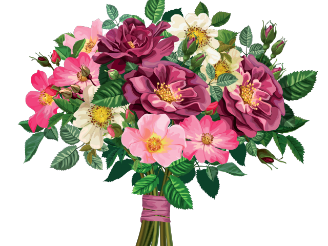 Clipart of flower bouquets graphic transparent stock Swedding Bouquet Cliparts Free Download Clip Art - carwad.net graphic transparent stock