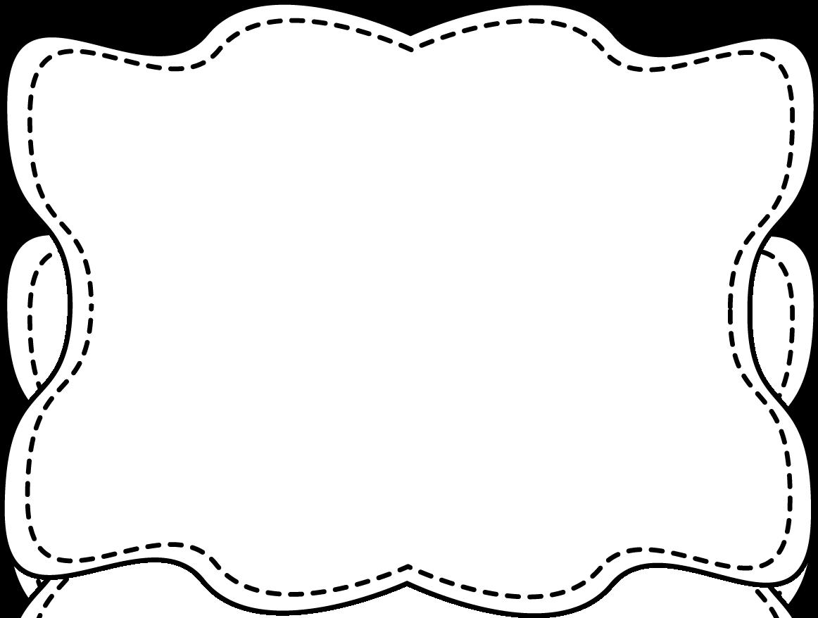 White borders clipart clip art download Frame Clip Art Black And White | Clipart Panda - Free Clipart Images clip art download