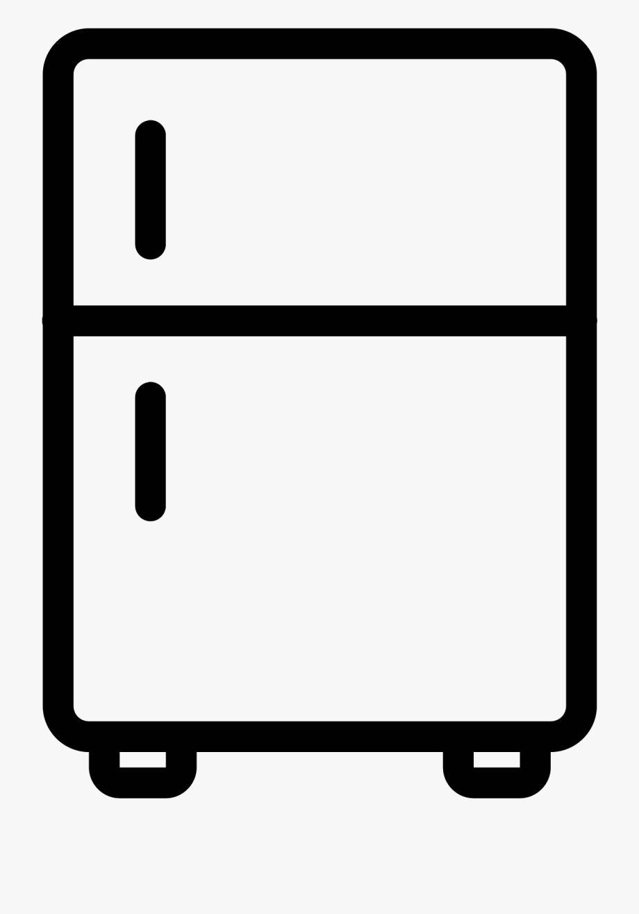 Clipart of fridge picture black and white library Fridge Clipart Side By Side - Fridge Clipart #39579 - Free Cliparts ... picture black and white library