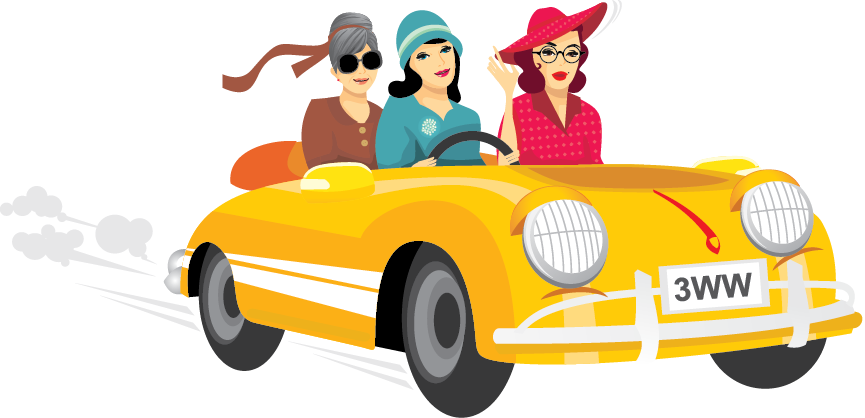 Clipart of girl driving car clip free stock Can't go wrong with a Berlei sarong clip free stock