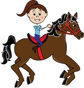 Clipart of girl riding a paint pony barrel racing svg free download Girl Riding A Horse Clipart Image: Little girl child riding a pretty ... svg free download