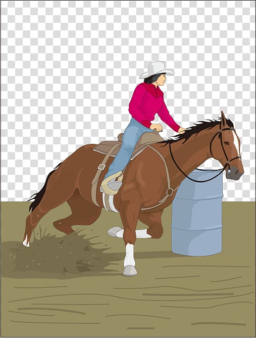 Clipart of girl riding a paint pony barrel racing clip freeuse Horse racing Gymkhana Equestrianism Barrel racing, Knight Horse ... clip freeuse