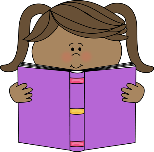 Clipart of girl with books png black and white Reading Books Clipart & Reading Books Clip Art Images - ClipartALL.com png black and white