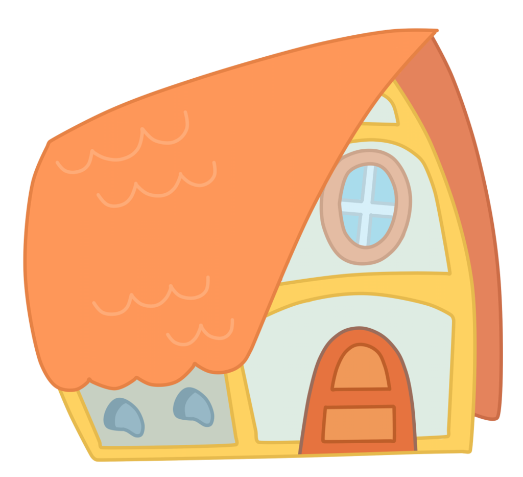 Clipart of goldilocks and the three bears house image royalty free library Goldilocks and the Three Bears House Clip art - bear 1024*933 ... image royalty free library